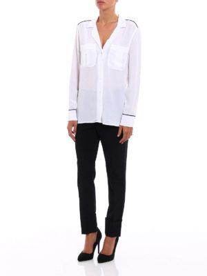 Equipment: shirts online - Sonny silk pajama shirt
