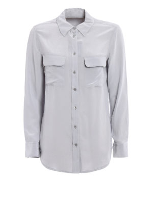 Equipment: shirts - Slim Signature silk shirt