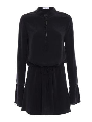 Equipment: short dresses - Trista silk mini dress