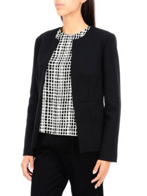 Erika Cavallini: blazers online - Wool blend single-breasted blazer