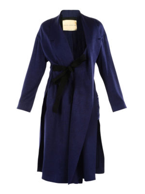 Erika Cavallini: knee length coats - Reagan belted dust coat