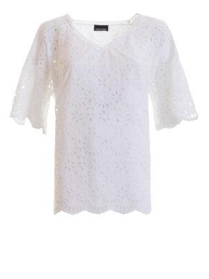 85b3675b1f2f ERMANNO SCERVINO  bluse - Blusa con dettagli cut-out