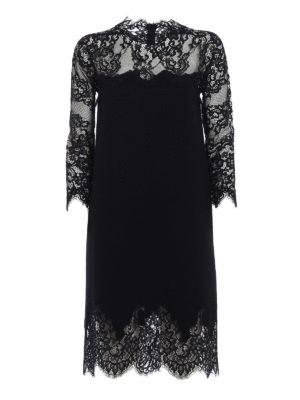 Ermanno Scervino: cocktail dresses - Bon ton lace pashmina dress