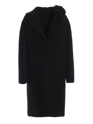 ERMANNO SCERVINO: cappotti al ginocchio - Cappotto in misto mohair