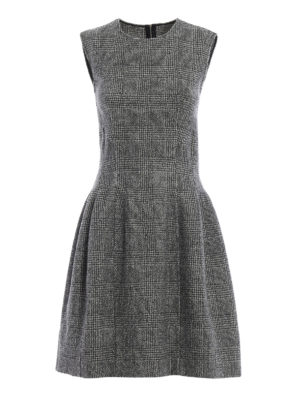 Ermanno Scervino: knee length dresses - Prince of Wales pure wool dress