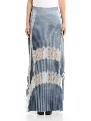 Ermanno Scervino: Long skirts online - Pleated long skirt