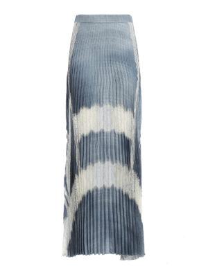 Ermanno Scervino: Long skirts - Pleated long skirt
