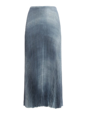 Ermanno Scervino: Long skirts - Pleated maxi skirt