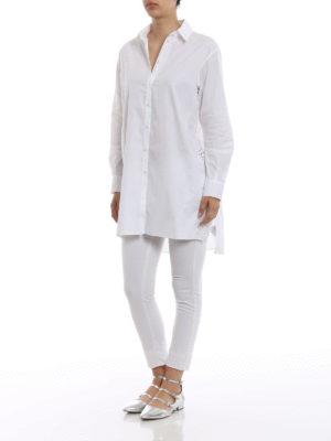 ERMANNO SCERVINO: camicie online - Camicia con spacchi ricamati