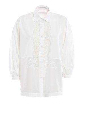 Ermanno Scervino: shirts - Romantic cotton shirt