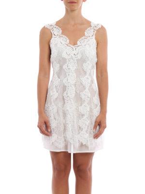 Ermanno Scervino: short dresses online - Pure cotton slip dress