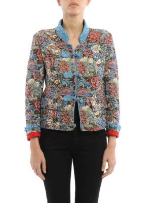 Ermanno Scervino: Tailored & Dinner online - Tapestry jacquard blazer
