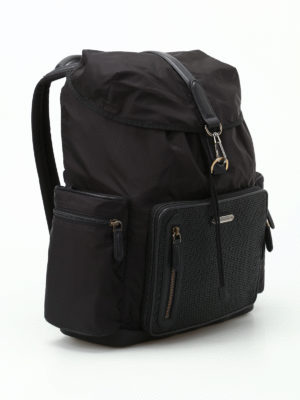 Ermenegildo Zegna: backpacks online - Special 30 black backpack