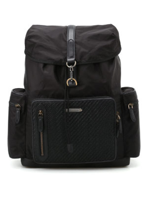 Ermenegildo Zegna: backpacks - Special 30 black backpack