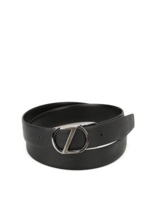 Ermenegildo Zegna: belts online - Double belt with two buckles