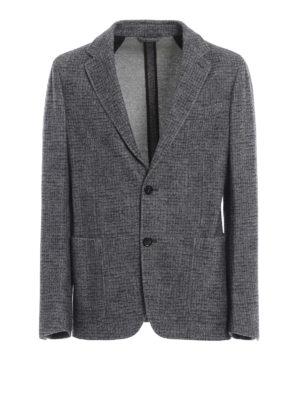 ERMENEGILDO ZEGNA: giacche blazer - Giacca destrutturata in misto cashmere