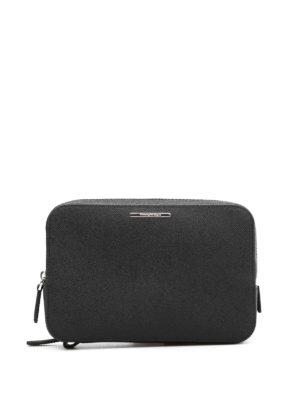 Ermenegildo Zegna: Cases & Covers - Grained leather case