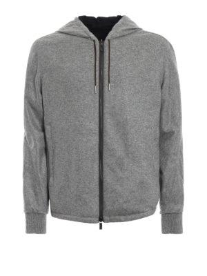 ERMENEGILDO ZEGNA: giacche casual - Giacca reversibile cashmere e poliestere