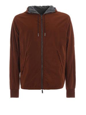 ERMENEGILDO ZEGNA: giacche casual - Giacca reversibile poliestere e cashmere