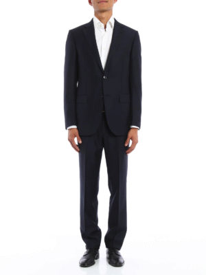 Ermenegildo Zegna: dinner suits online - Single-breasted wool suit