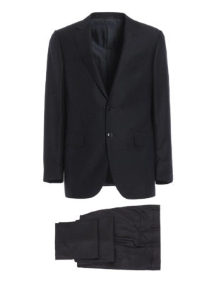 Ermenegildo Zegna: dinner suits - Single-breasted wool suit