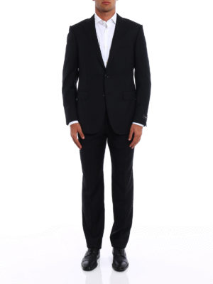 Ermenegildo Zegna: formal suits online - Mila two-piece pinstripe wool suit