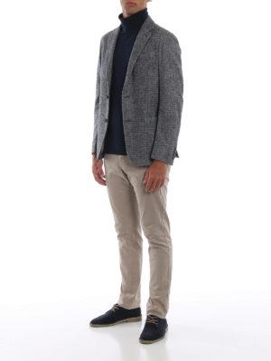 ERMENEGILDO ZEGNA: giacche blazer online - Giacca destrutturata in misto cashmere