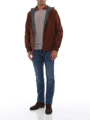 ERMENEGILDO ZEGNA: giacche casual online - Giacca reversibile poliestere e cashmere