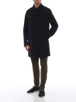 ERMENEGILDO ZEGNA: cappotti trench online - Impermeabile reversibile High Performance