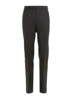 Ermenegildo Zegna: Tailored & Formal trousers - Wool tailored trousers