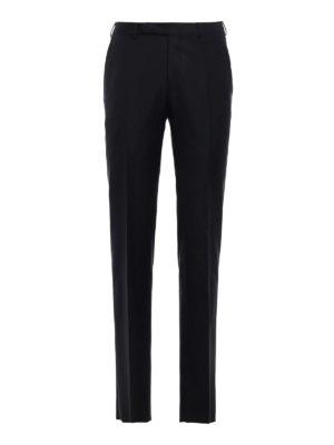 Ermenegildo Zegna: Tailored & Formal trousers - Wool tailored trousers