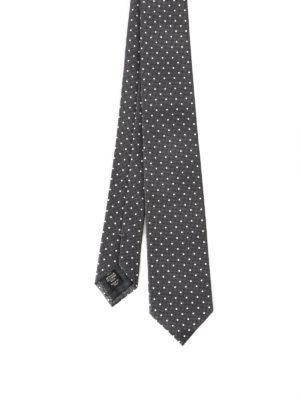 Ermenegildo Zegna: ties & bow ties - Micro check pattern silk tie