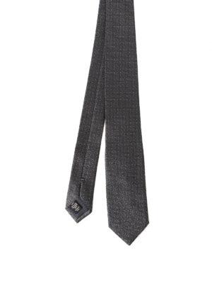 Ermenegildo Zegna: ties & bow ties - Mini polka dot silk tie