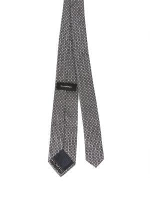 Ermenegildo Zegna: ties & bow ties online - Micro patterned silk tie