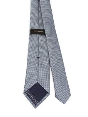 Ermenegildo Zegna: ties & bow ties online - Optical illusion silk tie