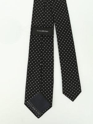 Ermenegildo Zegna: ties & bow ties online - Patterned silk jacquard tie