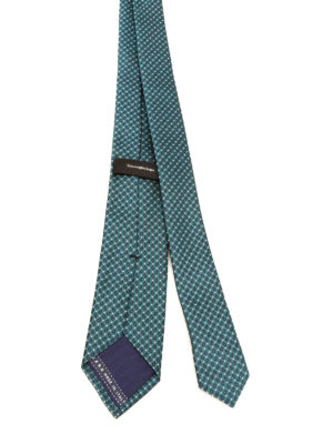 Ermenegildo Zegna: ties & bow ties online - Patterned silk tie