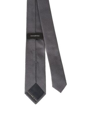 Ermenegildo Zegna: ties & bow ties online - Pearly silk jacquard tie