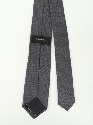 Ermenegildo Zegna: ties & bow ties online - Silk jacquard tie