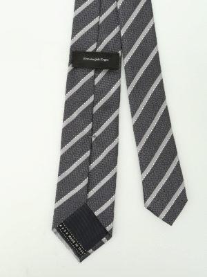 Ermenegildo Zegna: ties & bow ties online - Silk Regimental tie