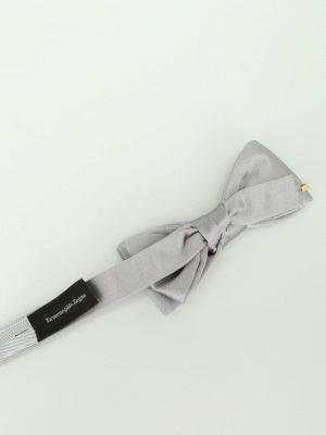 Ermenegildo Zegna: ties & bow ties online - Silk satin bow tie