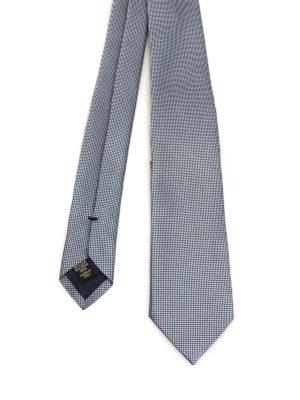 Ermenegildo Zegna: ties & bow ties - Optical illusion silk tie