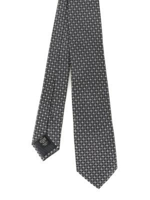 Ermenegildo Zegna: ties & bow ties - Patterned silk jacquard tie