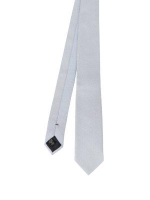 Ermenegildo Zegna: ties & bow ties - Pearly silk jacquard tie