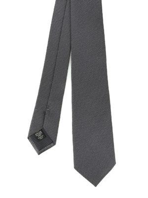 Ermenegildo Zegna: ties & bow ties - Silk jacquard tie