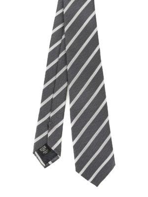 Ermenegildo Zegna: ties & bow ties - Silk Regimental tie
