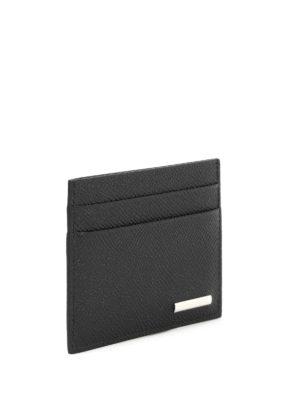 Ermenegildo Zegna: wallets & purses online - Grained leather card case