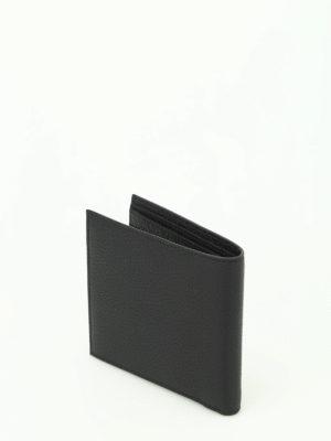Ermenegildo Zegna: wallets & purses online - Hammered leather bifold wallet