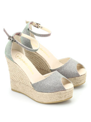Espadrilles: espadrilles - Susan open toe wedges