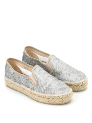 Espadrilles: Loafers & Slippers online - Tonia lurex slip-ons